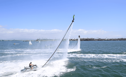 Fly with your flyboard