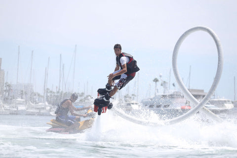 control the flyboard