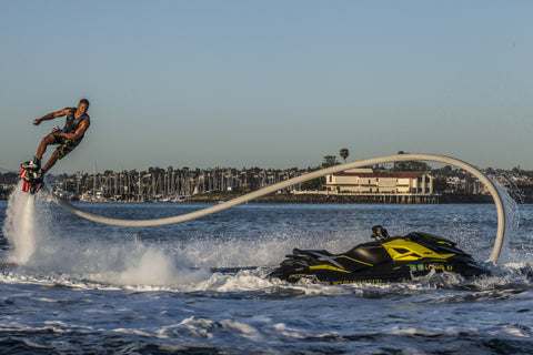 Image of Flyboard and jet ski