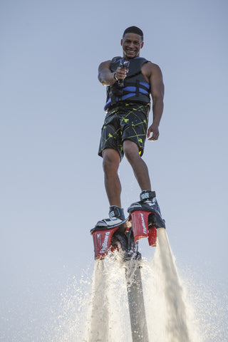 Image of Flyboard in the air