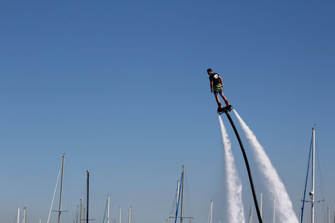 Image of Flyboard in the sky