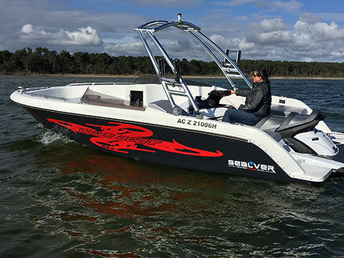 SEALVER WAVE BOAT 656