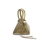 LIA VOLCANIC Gold Mini Bag