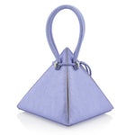 LIA Metallic Purple Handbag - NITASURI