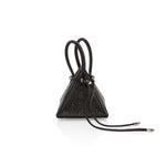 LIA Metallic Black Mini Bag - NITASURI