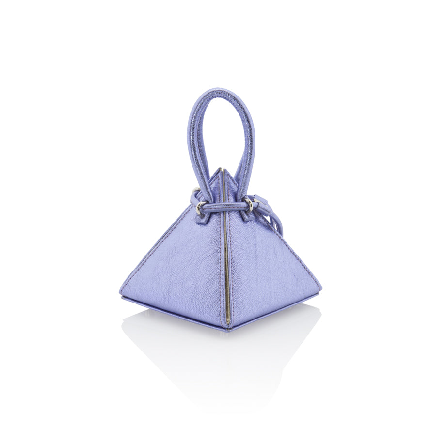 LIA Metallic Purple Mini Bag - NITASURI