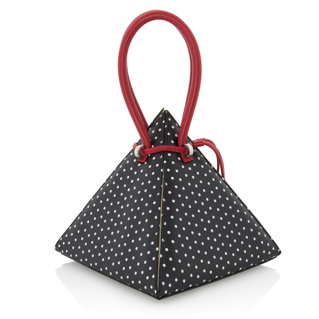 LIA Black with 3D Polka Dots - NITASURI