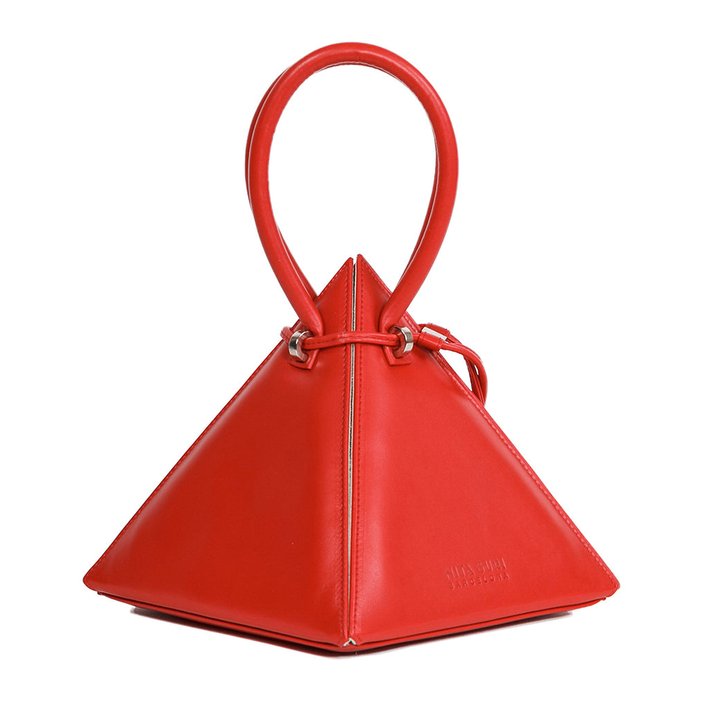 LIA Red Handbag - NITASURI