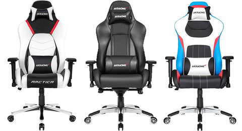 AKRacing Masters Series Premium Gaming Chairs