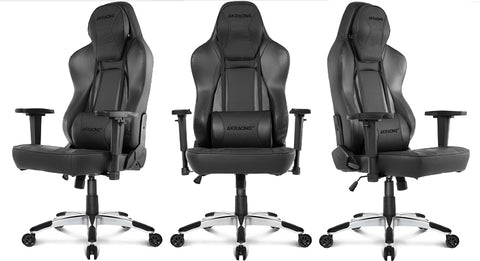 AKRacing Office Series Obsidian Gaming Chair in Black