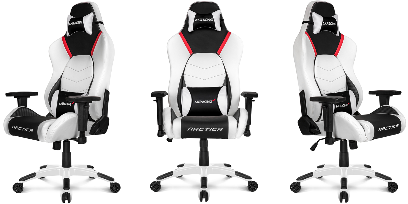 AKRacing Arctica Gaming Chair in White
