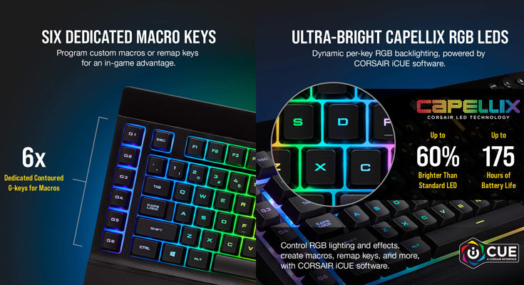 Corsair K57 RGB Gaming Keyboard