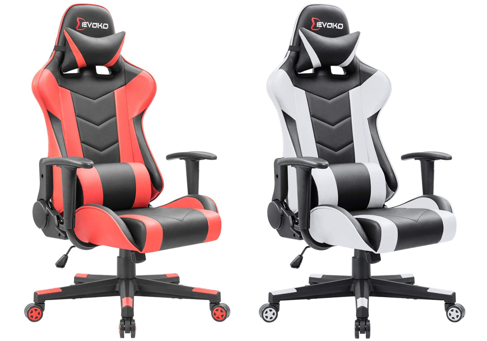 Devoko Gaming Chairs in Red or White
