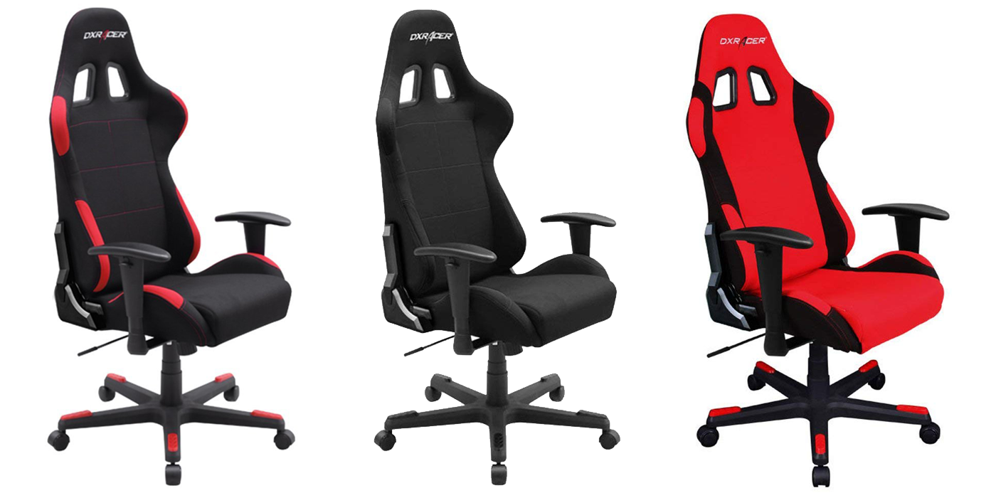DXRacer OH/FD01/N Formula Series Gaming Chair Black / Red