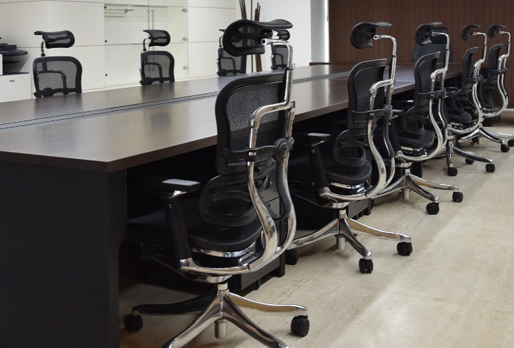 Ergohuman Office Chairs are a board room favorite