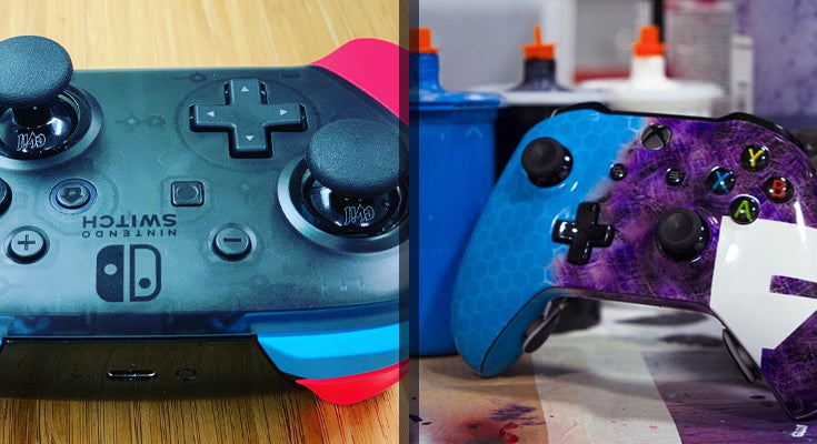 Evil Controllers Nintendo Switch and Fortnite Xbox Custom Controllers