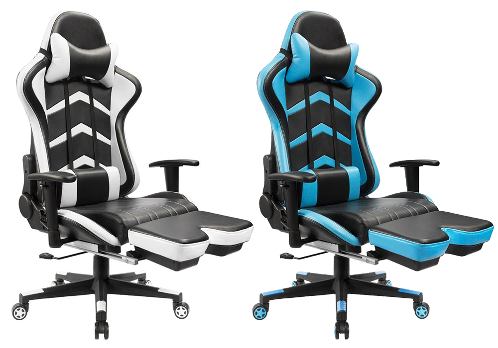 Furmax Gaming Chair with Footrest
