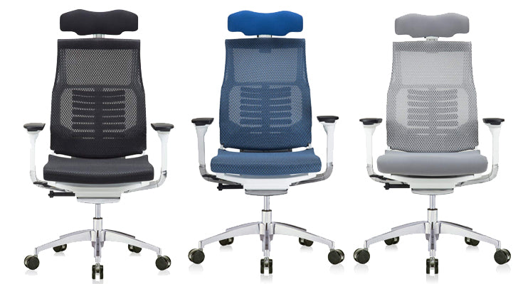 Eurotech High Back Headrest Powerfit Office Chair
