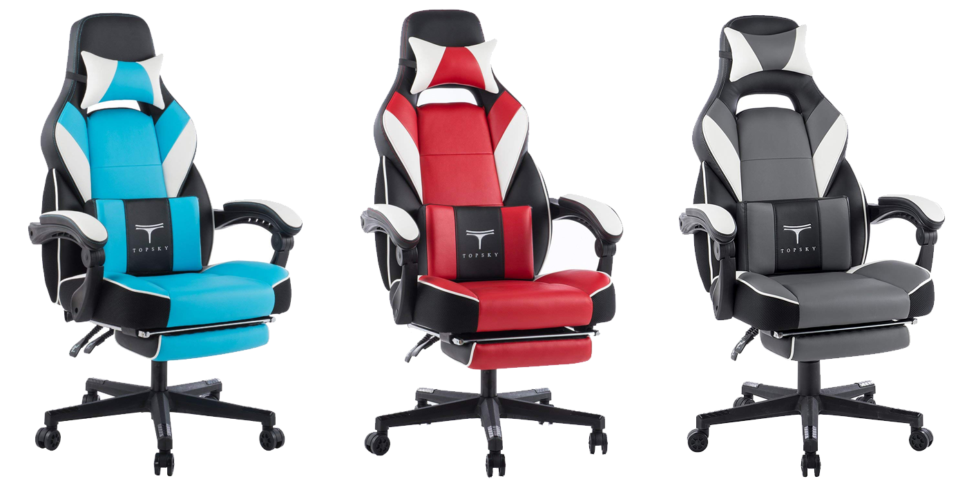 TopSky C4C Chair For Comfy Series Office Chair Gaming Chair Computer Chair in Blue / Red / Gray & Black