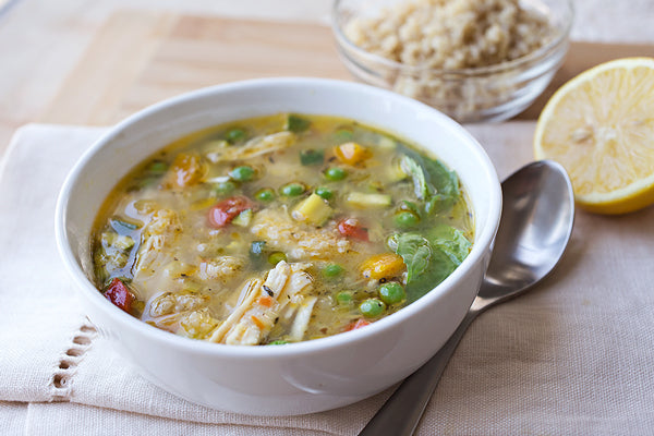 Lemony Chicken Soup