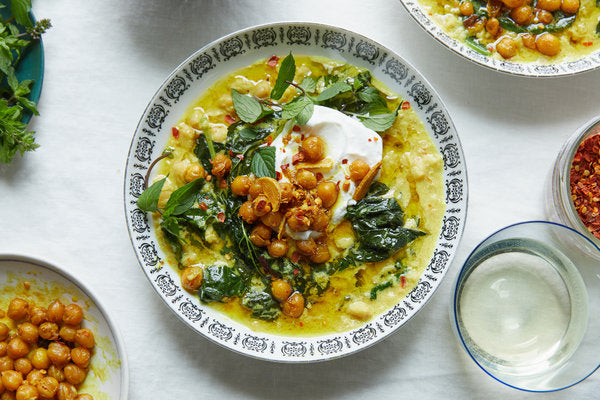 Alison Roman Spiced Chickpea Stew