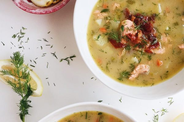 Parsnips & Pastries Whole30 Salmon Chowder