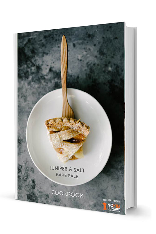 PRE-ORDER The Bake Sale Cookbook for No Kid Hungry
