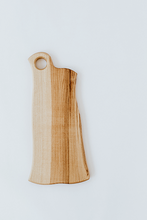 Load image into Gallery viewer, hand crafted ash wood serving and cutting board
