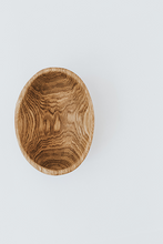 Load image into Gallery viewer, hand crafted birch wood serving bowl