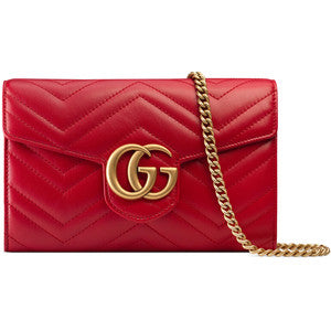 Red gucci clutch - leather clutch - red clutch - gucci bag - Luxury Gifts for Mom - Luxury Mother's Day Gifts - Luxury Gifts for Her