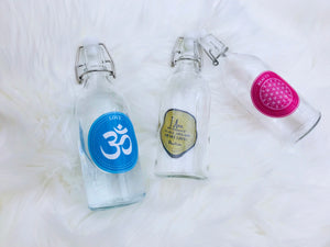 Water Blessing Labels - Positive affirmations for water - Programming Water with Intent