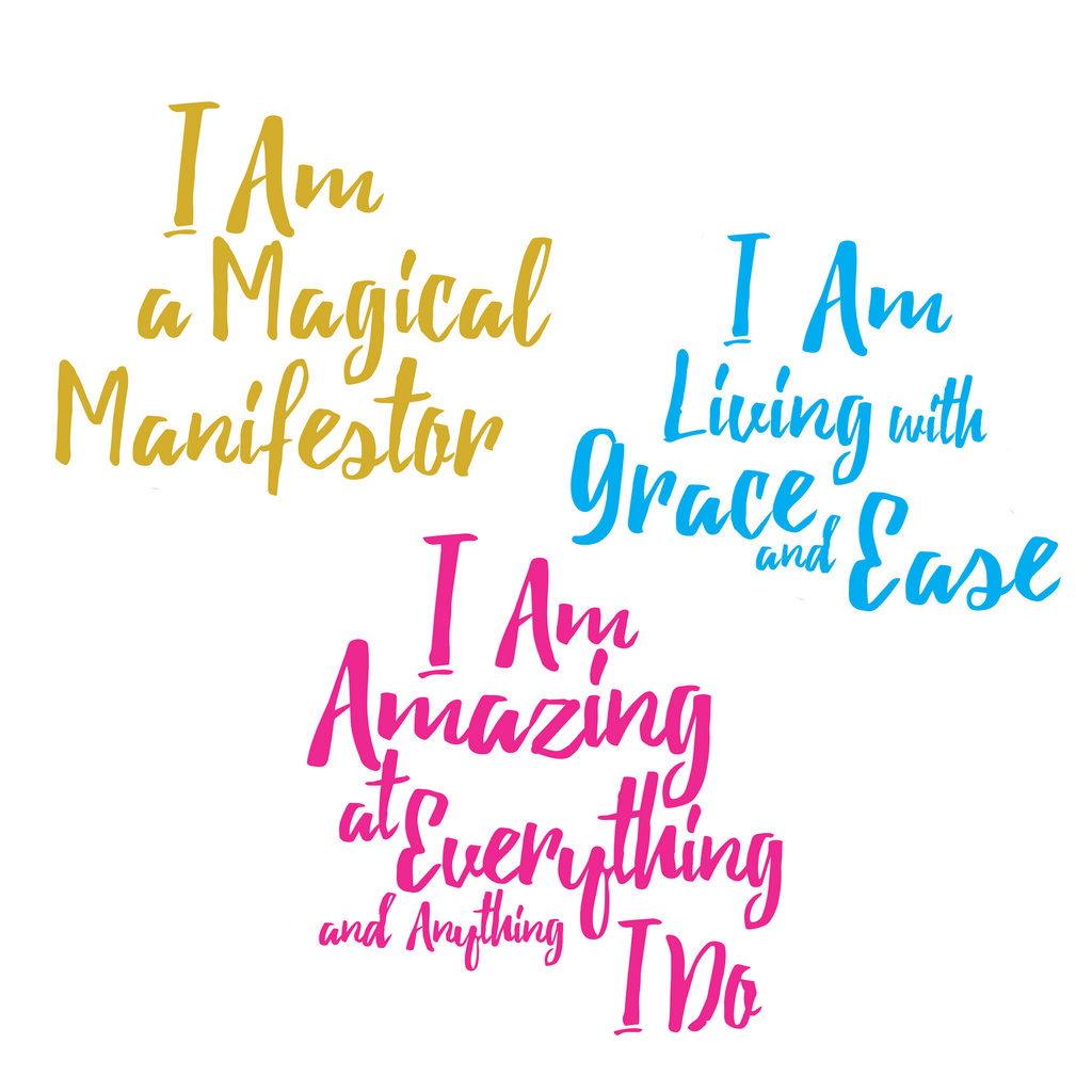 Mirror Mirror Affirmation Decals Law of Attraction Abraham Hicks