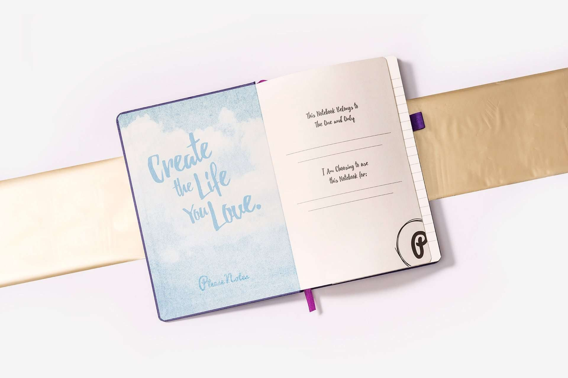 The Notebook <br> Inspirational Notebook