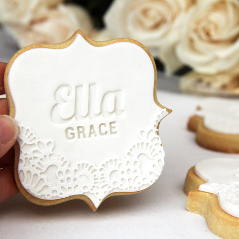 Personalised Cookie Stamps