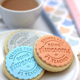 Teacher Thank You Cookie Stamp (Generic)