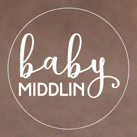 Baby Cookie Stamp - Modern