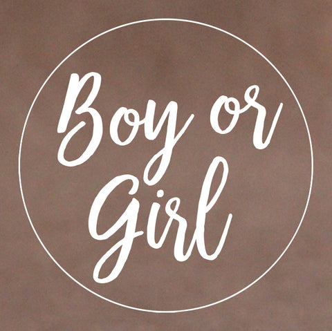 Boy or Girl Cookie Stamp (Generic)