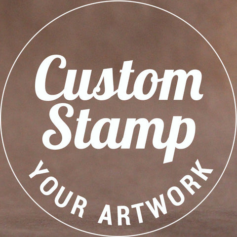 Custom Logo Cookie Stamp - Your artwork