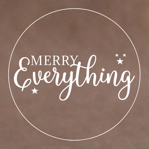 Christmas Cookie Stamp - Merry Everything (Generic)