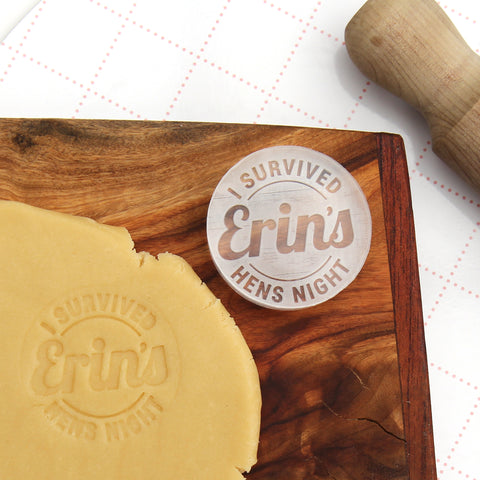 Hens Night Cookie Stamp