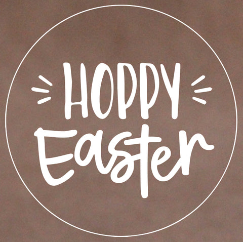 Easter - Hoppy Easter Cookie Stamp (Generic)