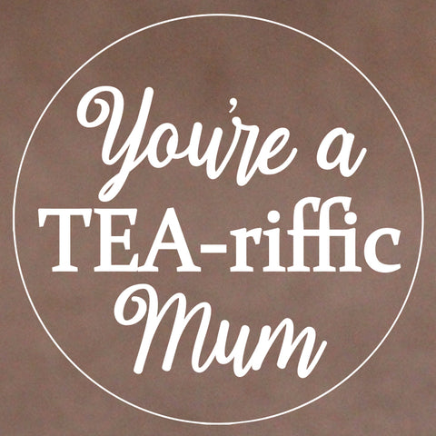 Mother's Day Cookie Stamp - Tea-riffic Mum (Generic)