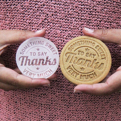 Something Sweet to Say Thank You Cookie Stamp (Generic)