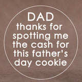 Father's Day Cookie Stamps (Generic)