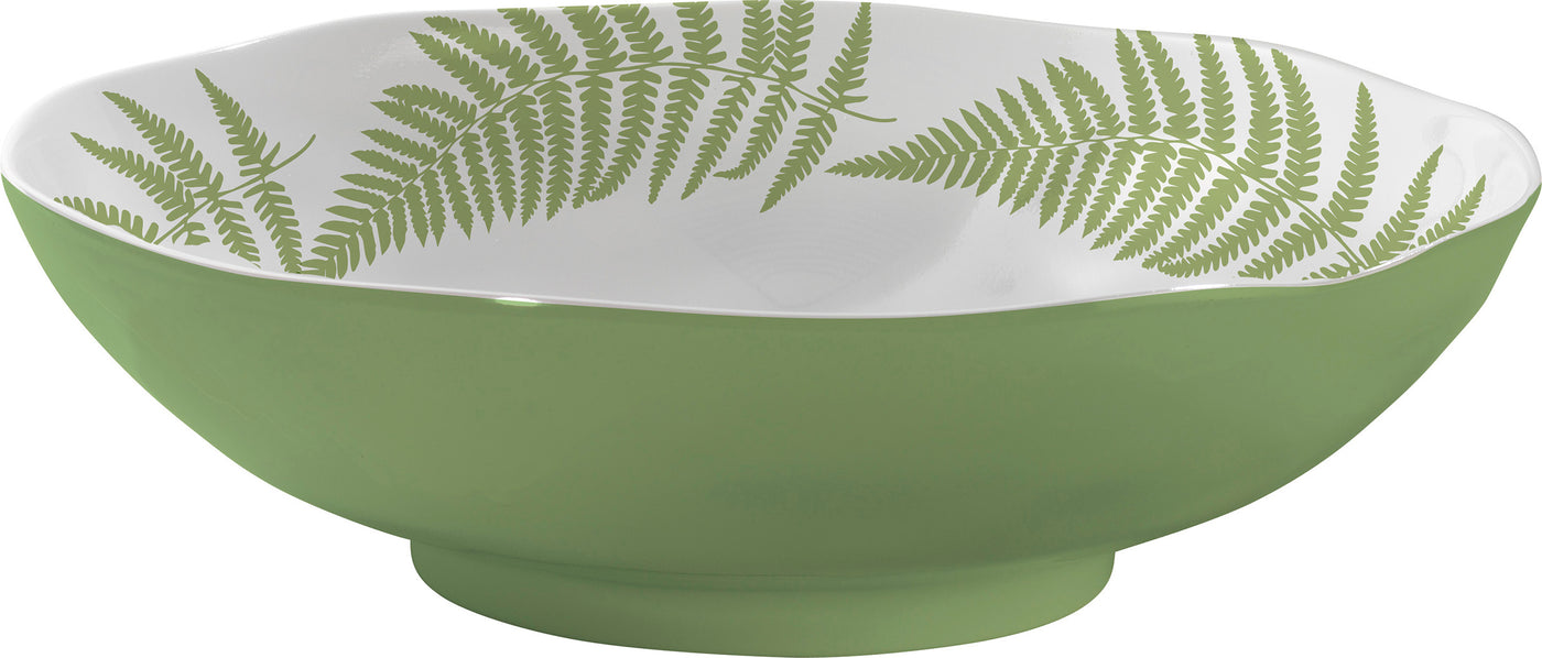 Fern Salad Bowl