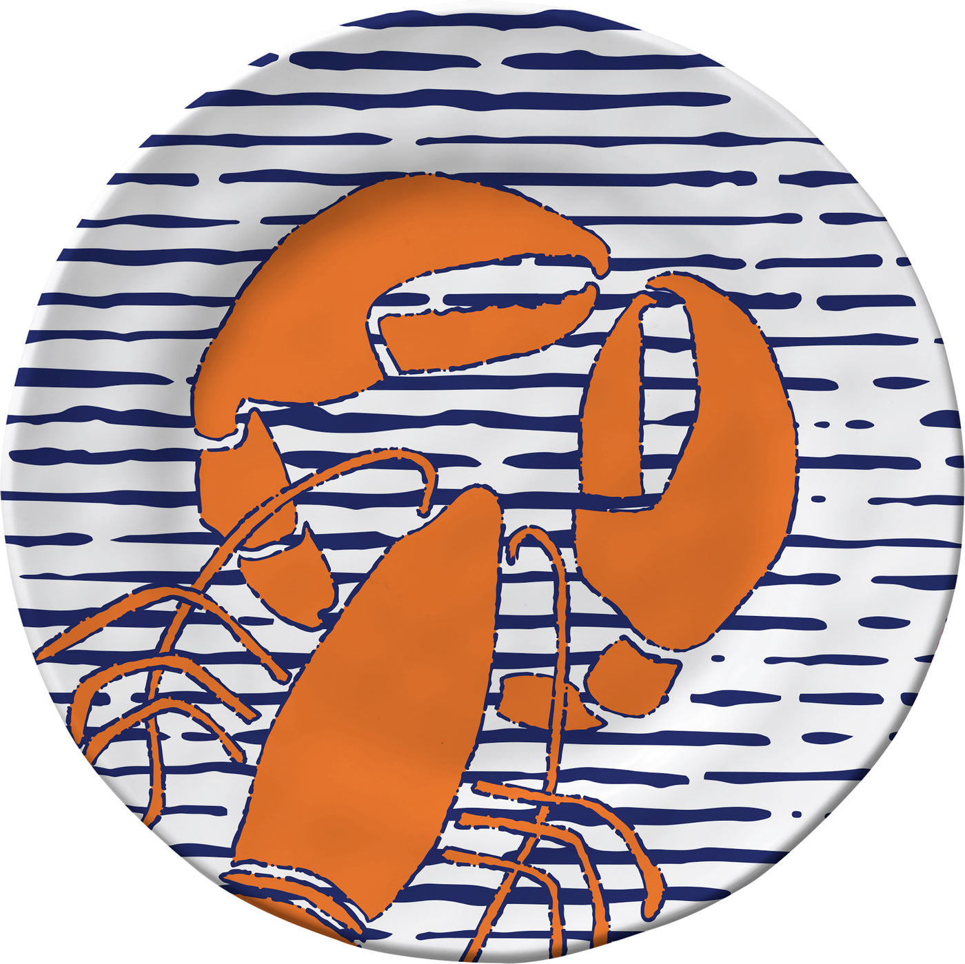Waterline Lobster Dinner Plate