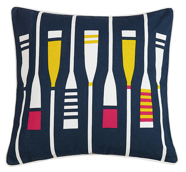 Oars Canvas Pillow
