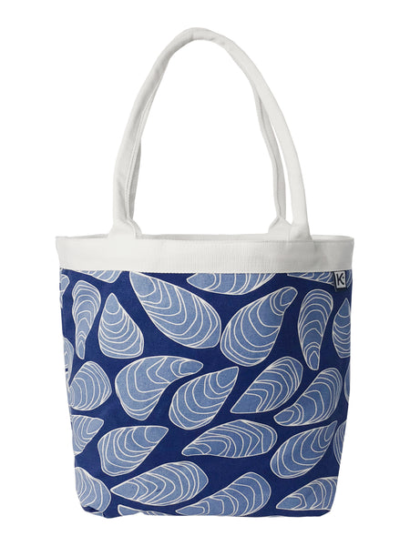 Dock Square Tote-Blue Mussel