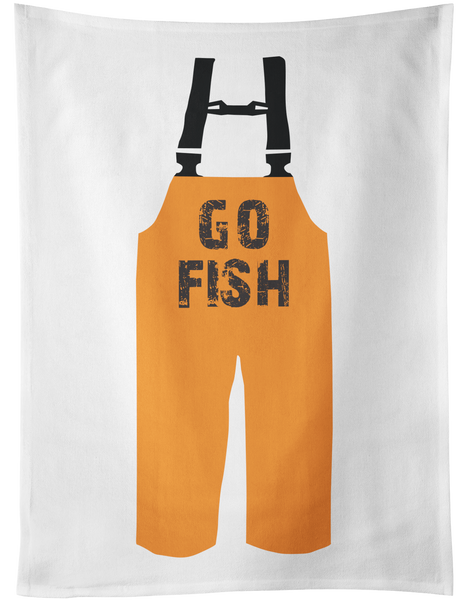 GO FISH Tea Towel