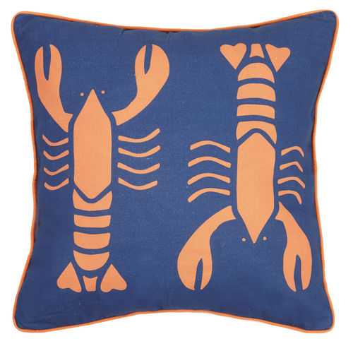 Hot Lobster Canvas Pillow